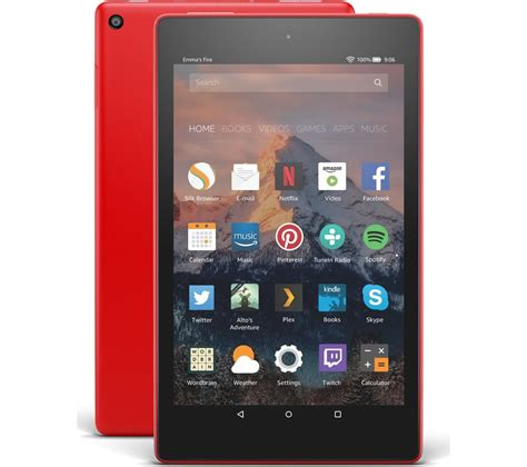 amazon fire hd 8 amazon fire hd 8 tablet with alexa 2017 32 gb punch