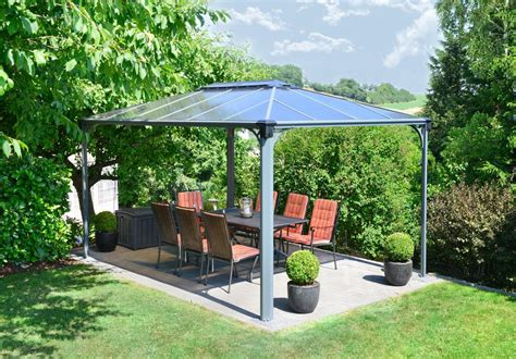 pavillon metall stabil enjoyable pavillon garten moderne gartenpavillon metall