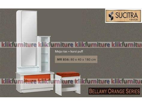 Meja Rias Sucitra meja rias minimalis putih mr 856 bellamy sucitra
