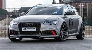 Audi A6 Bodykit Prior Design S Pd600r Kit Helps Audi A6 Avant Rs6 Flex Muscles