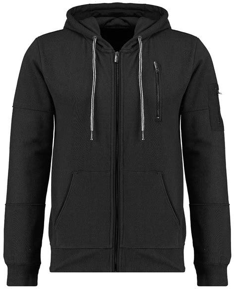 Hoodie Zipper Seven Nugraha Clothing seven series mens hoodie black hermit zip up