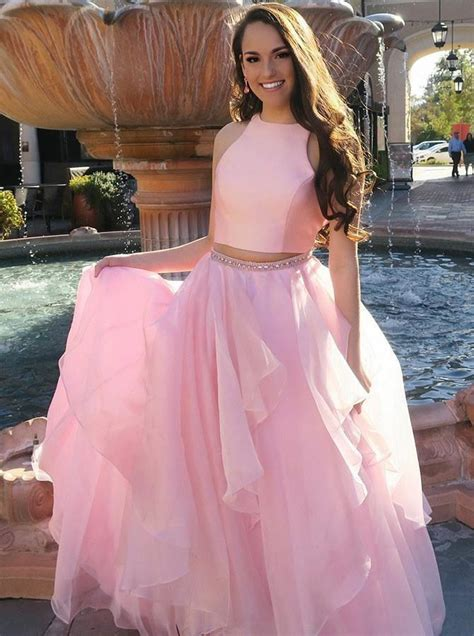 piece prom dressespink prom dress  teenssimple