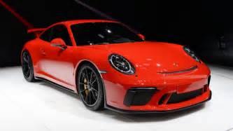 Porsche Gt 3 2018 Porsche 911 Gt3 The Naturally Aspirated Solution