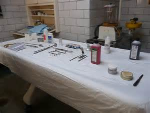 martinez funeral home martinez funeral home embalming room and instruments