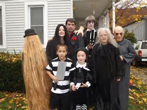 Addams family thing costume this list of group halloween costume ideas