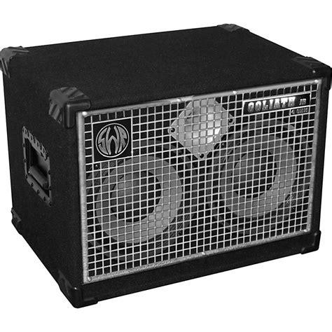 swr goliath junior iv 2x10 bass speaker cabinet musician