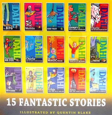 all my ones a collection of stories books roald dahl collection 15 books box set phizz wizzing