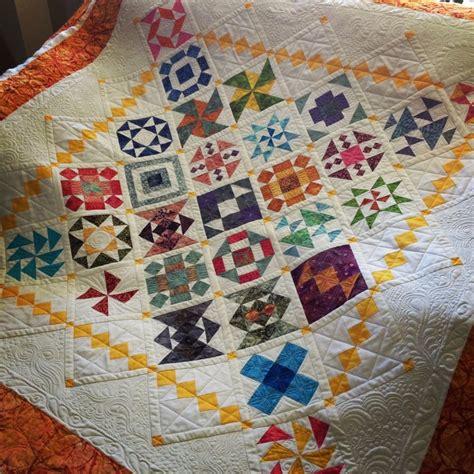 Quilt Color Combinations by Laraine S Miniature Block Quilt Lovely Color Combinations