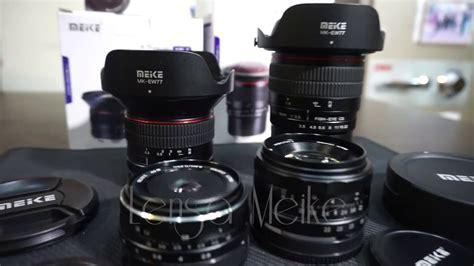 Lensa Fix Canon lensa fix meike 8mm 12mm 28mm dan 50mm review mitrakamera