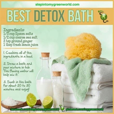 How To Make A Detox Bath To Lose Weight by Best Detox Bath Pictures Photos And Images For