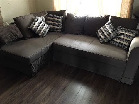 ikea moheda corner sofa ikea moheda corner sofa bed couch including 6 cushions