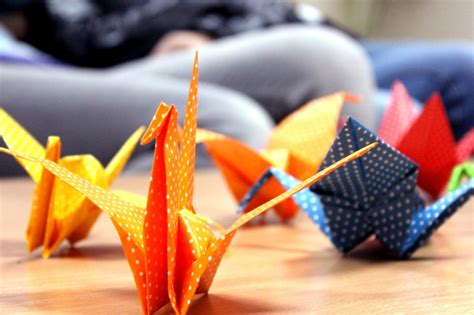Origami In Japanese Culture - japanese culture appreciation day at aubg aubg