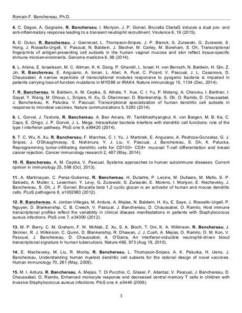Assayer Sle Resumes by Banchereau Resume