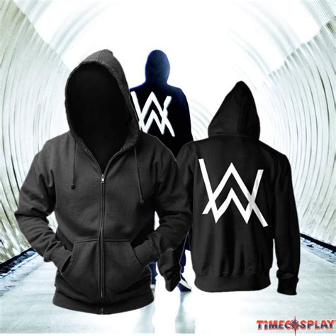 Hoodie Zipper Jumper Sweater Alan Walker alan walker faded remix zipper hoodies
