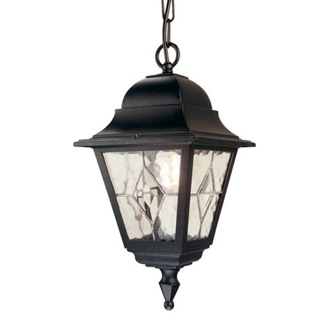 hanging porch lantern traditional black porch light with