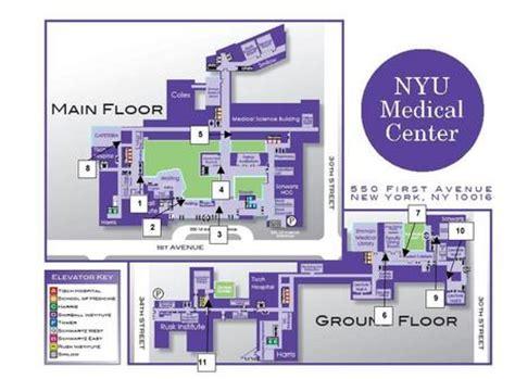 tisch hospital map nyu langone medical center