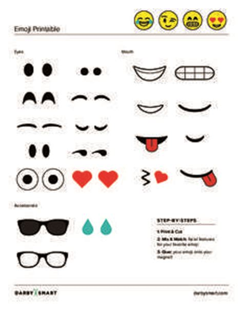 printable emoji eyes printable emoji eyes google search emoji pinterest