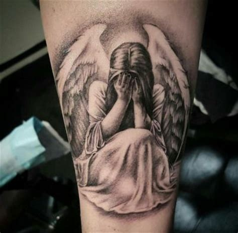 tattoo angel crying weeping angel by nicole willingham at apocalypse tattoo co