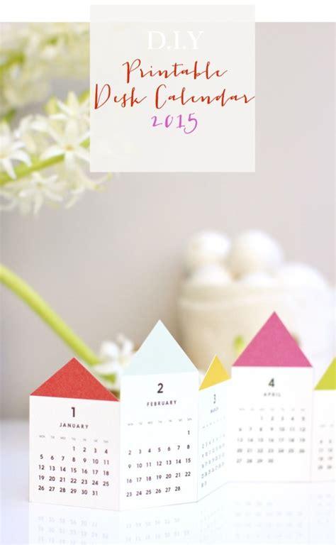 diy desk calendar diy printable desk calendar