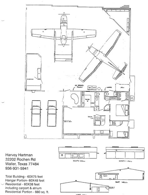 hangar home floor plans hartman living with your plane