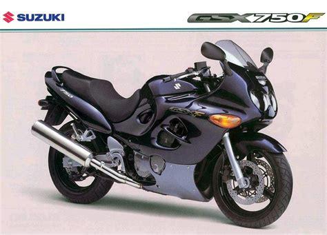 Suzuki Gsx F 2000 Suzuki Gsx 750 F Pics Specs And Information