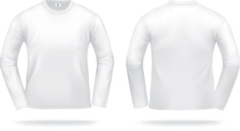white t shirts template vector set 03 millions