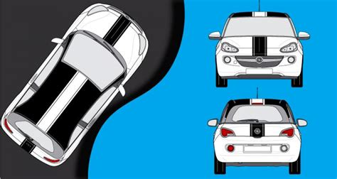 Racing Paradise Sticker by Stickers Opel Adam Bandes Racing