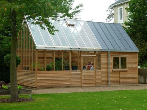 garden shed greenhouse combo bing images pinterest