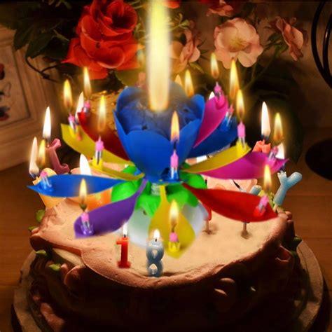 amazing musical lotus flower happy birthday gift