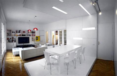 studio interior white apartment by parasite studio interiorzine