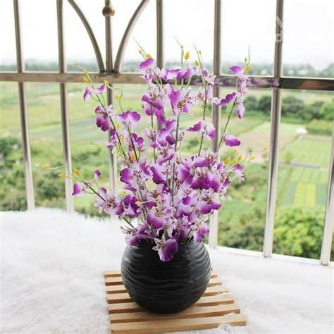vasi con piante vasi con fiori finti piante finte fiori finti in vaso