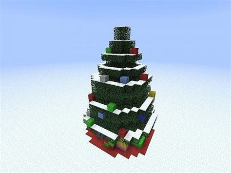 how to make an xmas tree on minecraft minecraft world minecraft project