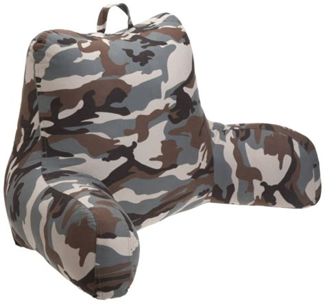 brentwood bed rest pillow brentwood camoflage bedrest gadgets matrix