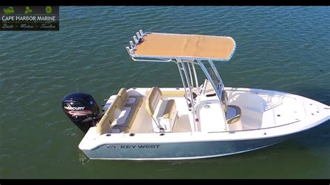 key west boats opinions cape harbor marine key west boats 189fs youtube