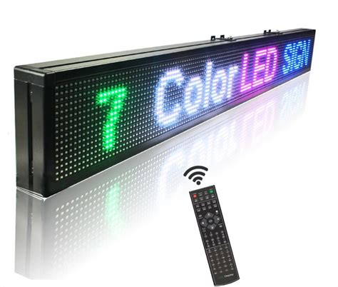 Led Display Indoor aliexpress buy 49 quot x6 quot remote led display indoor programmable scrolling message led