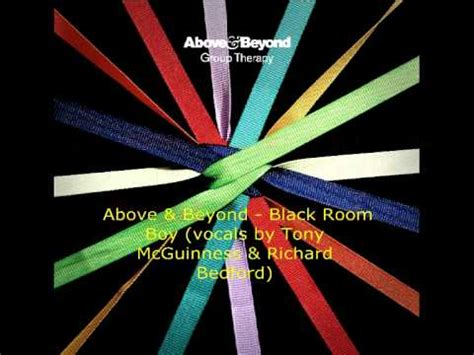 black room boy above and beyond black room boy vocals by tony mcguinness and richard bedford