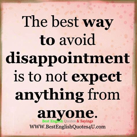 the best way to avoid disappointment love and sayings 74 best best quotes images on pinterest best quotes