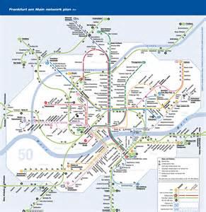 Metro System Map by Frankfurt Metro Map World Of Map