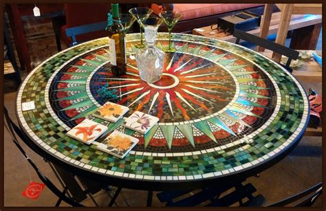 Patio Table Mosaic Furthur Wholesale Mosaic Dining Tables