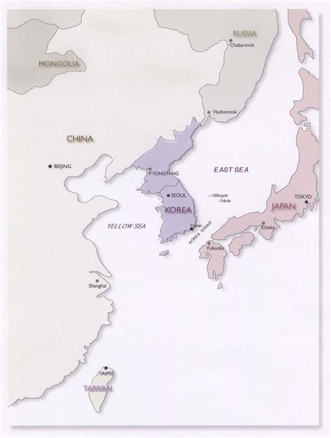 Outline Map Of China Korea And Japan by Resources East Asia In Geographic Perspective