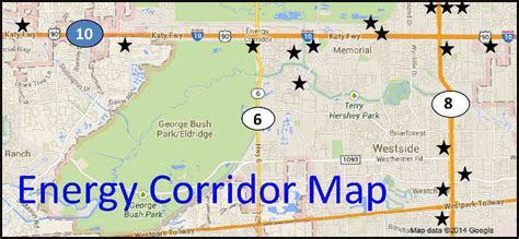 houston map energy corridor houston s energy corridor 17 new projects real estate