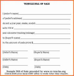 simple bill of sale for car template simple bill of sale template pictures inspirational pictures