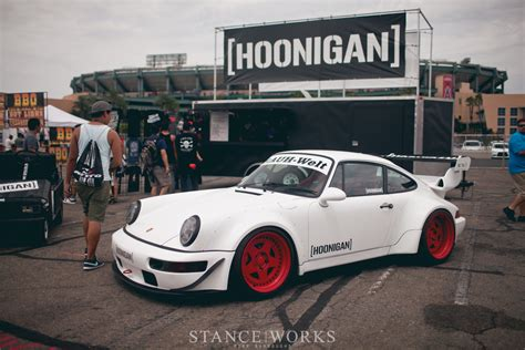 hoonigan porsche nitto presents auto enthusiast day 2014 stance works