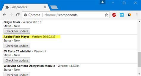 chrome enable flash enable adobe flash player in chrome firefox ie edge opera