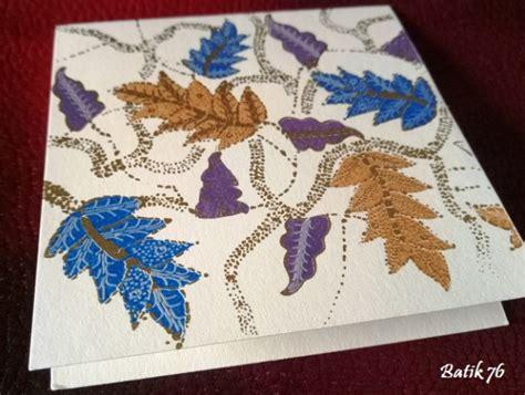 Kartu Ucapan Handmade Batik76 Motif 1 jual kartu ucapan handmade batik76 motif alur krem size s kartu ucapan batik kartu ucapan