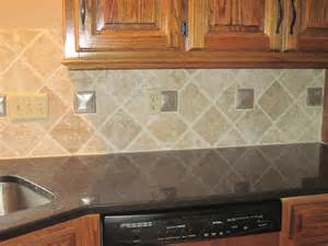 tile backsplash patterns drennon s custom tile travertine backsplash diamond pattern