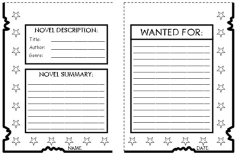 book report wanted poster template how to write a book review for template