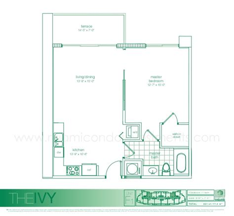 the ivy miami floor plans ivy condo miami floor plans