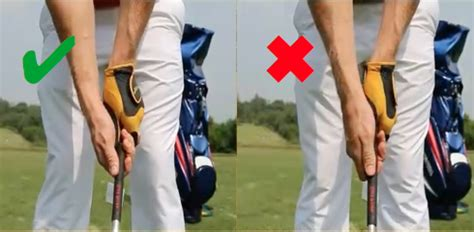 strong golf grip swing image gallery strong grip