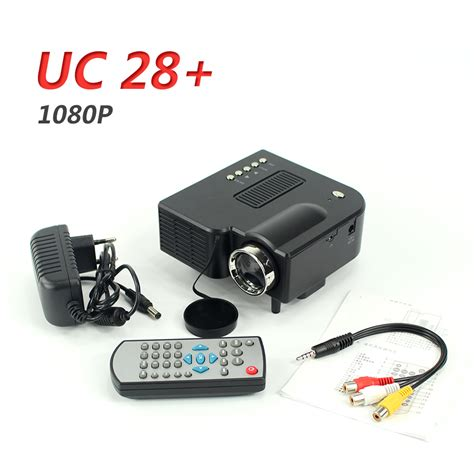 Mini Projector Uc28 uc28 portable mini projector projetor home cinema beamer
